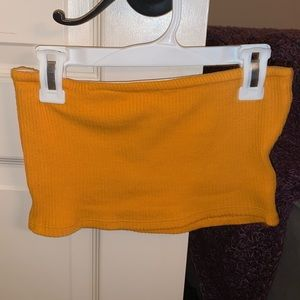Urban Outfitters Yellow Tube Top